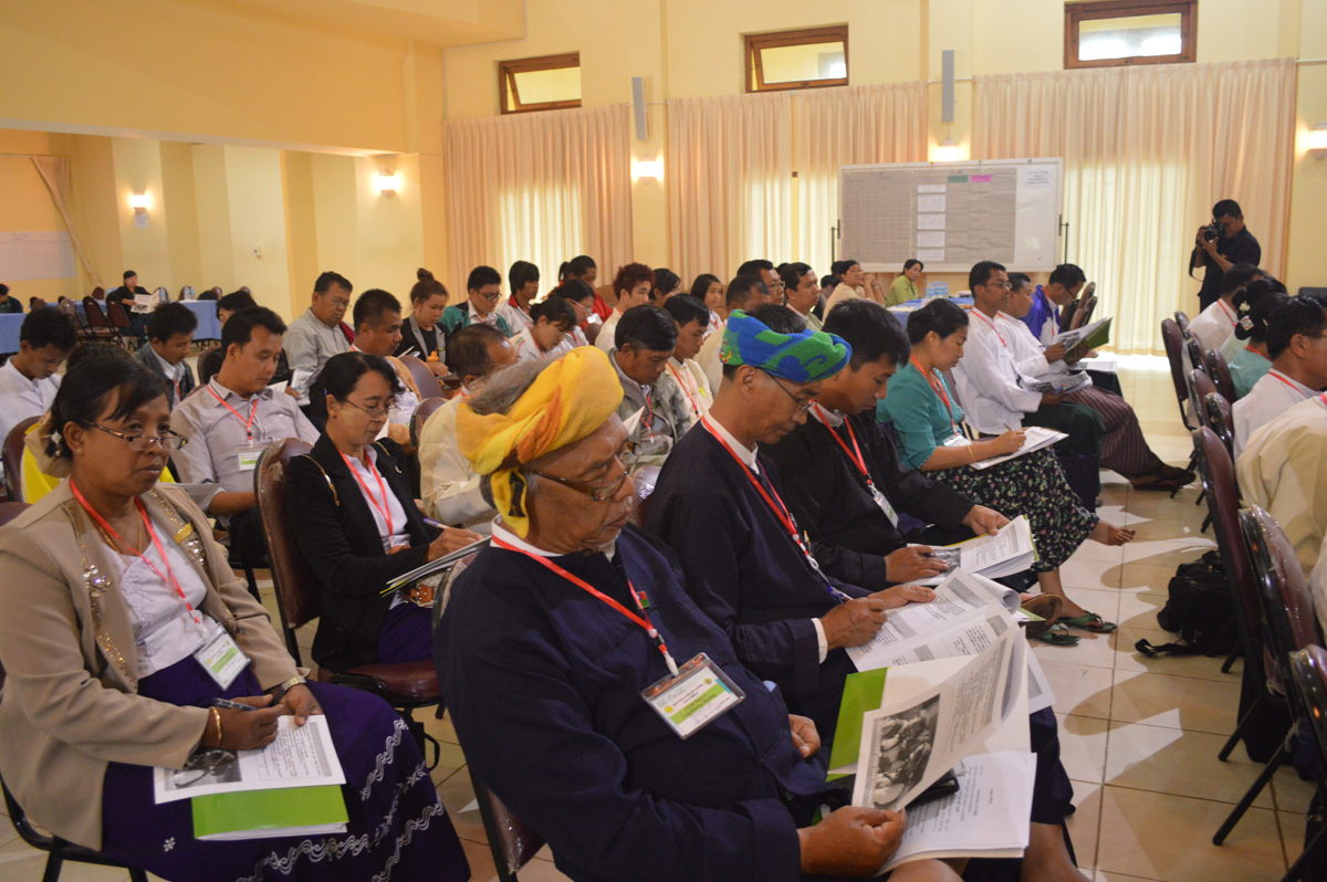 As many as 150 participants attended at the Taunggyi Consultation workshop